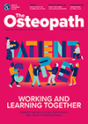 The Osteopath July/August 2019