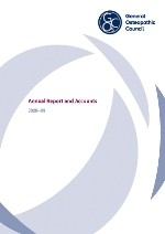 Annual Report and Accounts 2008-09