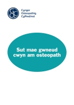 How to complain about an osteopath - Welsh