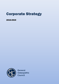 Corporate strategy 2016-19
