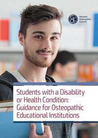 Students with a disability or health condition: guidance for OEIs