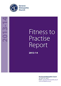 Fitness to practise annual report 2013-3014