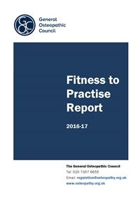 Fitness to practise annual report