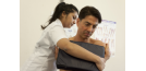 Female osteopath and male back 6
