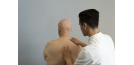 Male osteopath and elderly man 3