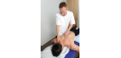 Male osteopath with male back 3