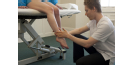 Male osteopath with woman's feet 3