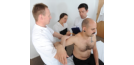 Osteopathy with student and patients