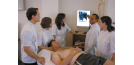 Osteopath and students 2