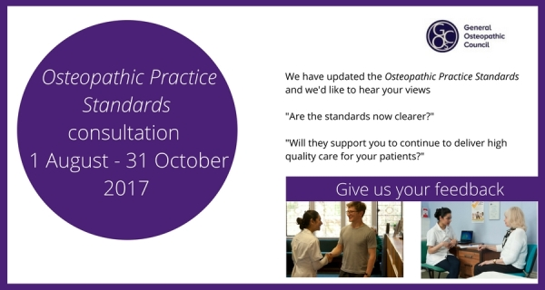 Osteopathic Practice Standards consultation