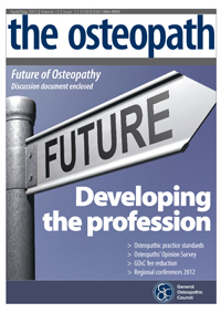 the osteopath April/May 2012