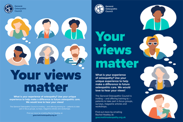 Patient Views Posters