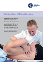 Standards of osteopathic care 150x213