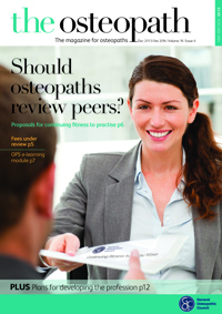 The Osteopath December 2013-January 2014
