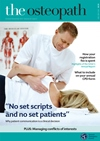 the osteopath magazine October November 2017
