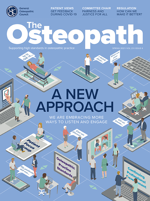 The Osteopath spring 21 cover image