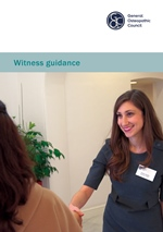 Witness guidance leaflet